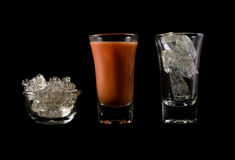 Water drink in glass Stock Photography