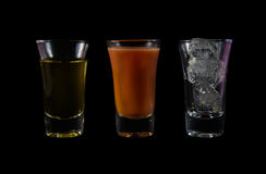 Water drink with ice Royalty Free Stock Photos