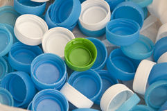 Water drinking plastic cap Royalty Free Stock Photos