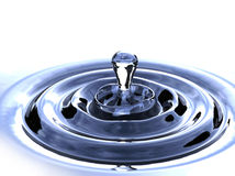 Water drip Stock Photo