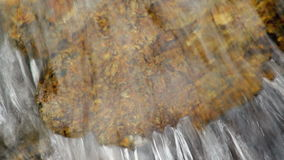 Water dripping from the rock. With sound stock footage