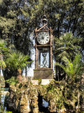 Water driven Watch in Villa Borghese, Rome royalty free stock photography
