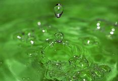 Water drop. Close up royalty free stock image