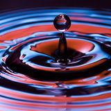 Water drop stock image