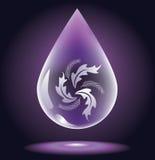 Water-drop stock illustration