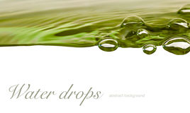 Water drop background Stock Photography