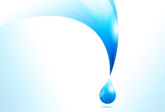 Water Drop Background Royalty Free Stock Photos