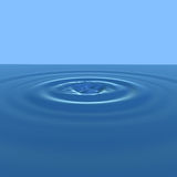 Water ripple Stock Images