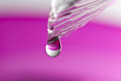 Water Drop Close Up Royalty Free Stock Photos