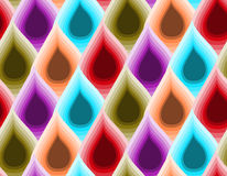 Water drop colorful Pattern Stock Photos
