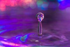 Water Drop Column of Water Stock Photos
