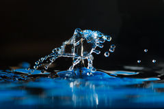 Water Drop Creations Royalty Free Stock Photography