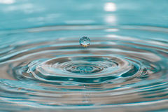 Water drop in detail Royalty Free Stock Photography