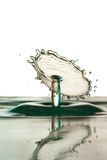 Water drop falling Stock Photo