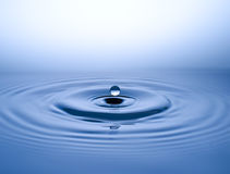 Water Drop. Falling down Waterdrop Stock Images