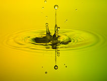 Water Drop. Falling down, Waterdrop Royalty Free Stock Images