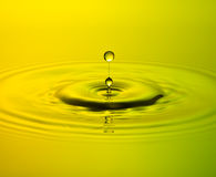 Water Drop. Falling down, Waterdrop Stock Photography