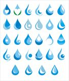 Water drop Royalty Free Stock Photos
