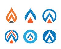 Water drop Logo Template. Vector illustration design Royalty Free Stock Photo