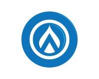 Water drop Logo Template Royalty Free Stock Image