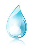 Water drop made in illustrator cs4 Stock Photo