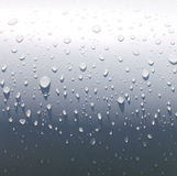 Water drop on metal Stock Photography