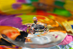 Water Drop Sculpture. Stock Photography