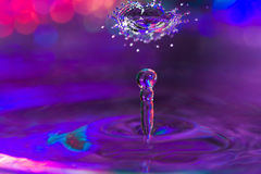 Water Drop Sculpture. Royalty Free Stock Images