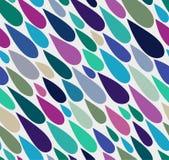 Water drop seamless pattern. Colorful water drop seamless pattern Royalty Free Illustration