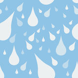 Water Drop Seamless Pattern Royalty Free Stock Images