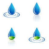 Water Drop Set Royalty Free Stock Photo