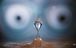 Water drop splash Stock Photos