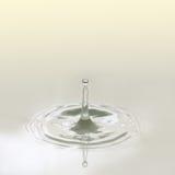 Water drop and splashing. Stock Photo