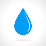 Water drop vector icon Stock Photography