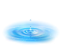 Water Drop. Royalty Free Stock Photo
