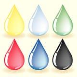 Water drop vector Royalty Free Stock Photos