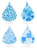 Water drop8 Royalty Free Stock Photo