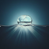 Water droplet. Stock Image