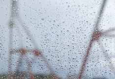 Water droplet background Stock Photo