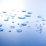Water Droplet background Royalty Free Stock Images
