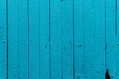 The water droplet on blue sky door Royalty Free Stock Image