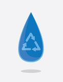 Water Droplet Recycle Stock Photos