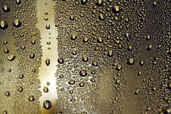 Water droplets. Background, close up Royalty Free Stock Photography