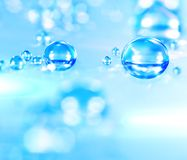 Water droplets royalty free stock photo