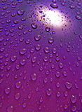 Water droplets. Super close up Royalty Free Stock Images