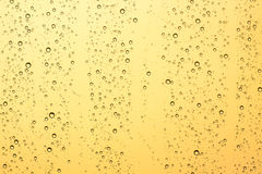 Water droplets on the glass Royalty Free Stock Photography