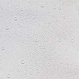 Water droplets. On a gray background Stock Images