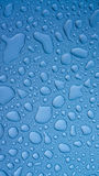 Water droplets on metal Royalty Free Stock Photography