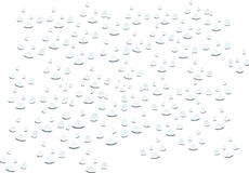 Water drops royalty free illustration