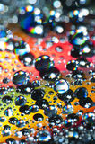 Water drops stock photography